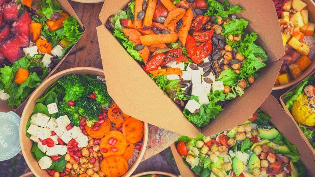 Pottsalat vegane, vegetarische und gesunde Bowls und Salate